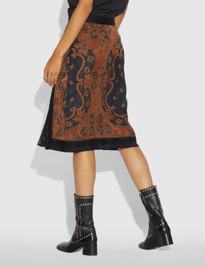 Coach Bandana Print Skirt Brown PRIVATE SALE For Her Ready-to-Wear Alternate View 2
