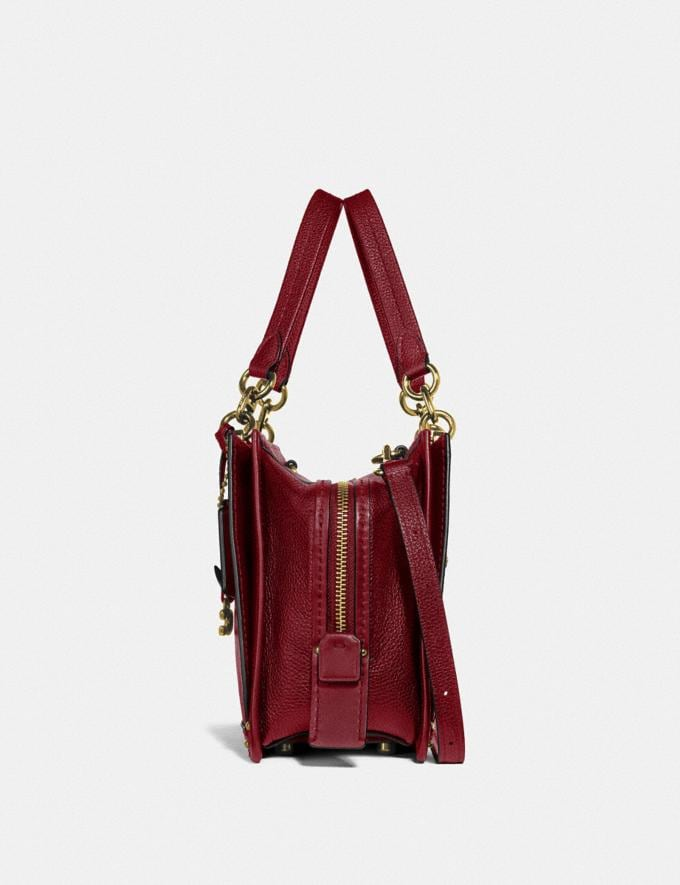 Coach Dreamer Brass/Deep Red New Featured Women New Top Picks Alternate View 1