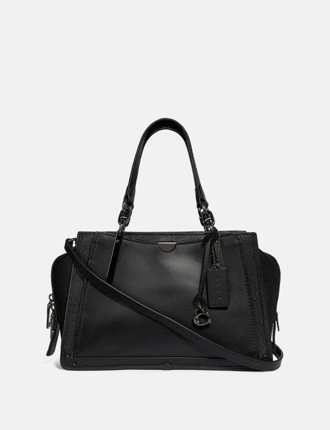 Coach Dreamer Gm/Black Women Bags Satchels