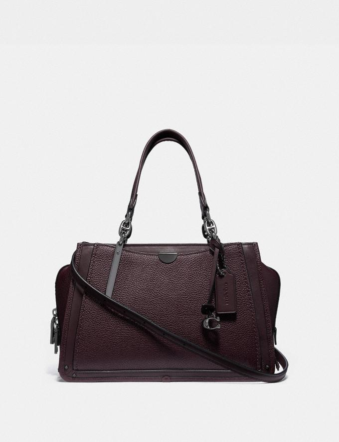 Coach Dreamer Oxblood/Gunmetal New Featured 30% off (and more)