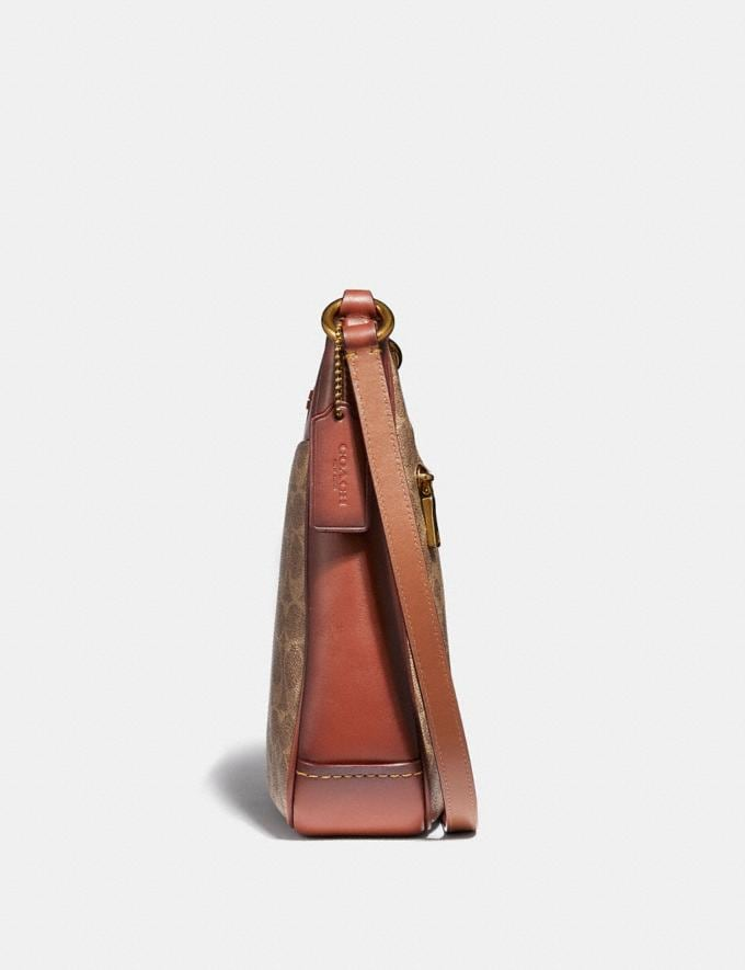 Coach Chaise Crossbody in Signature Canvas B4/Tan Rust New Women's New Arrivals Alternate View 1