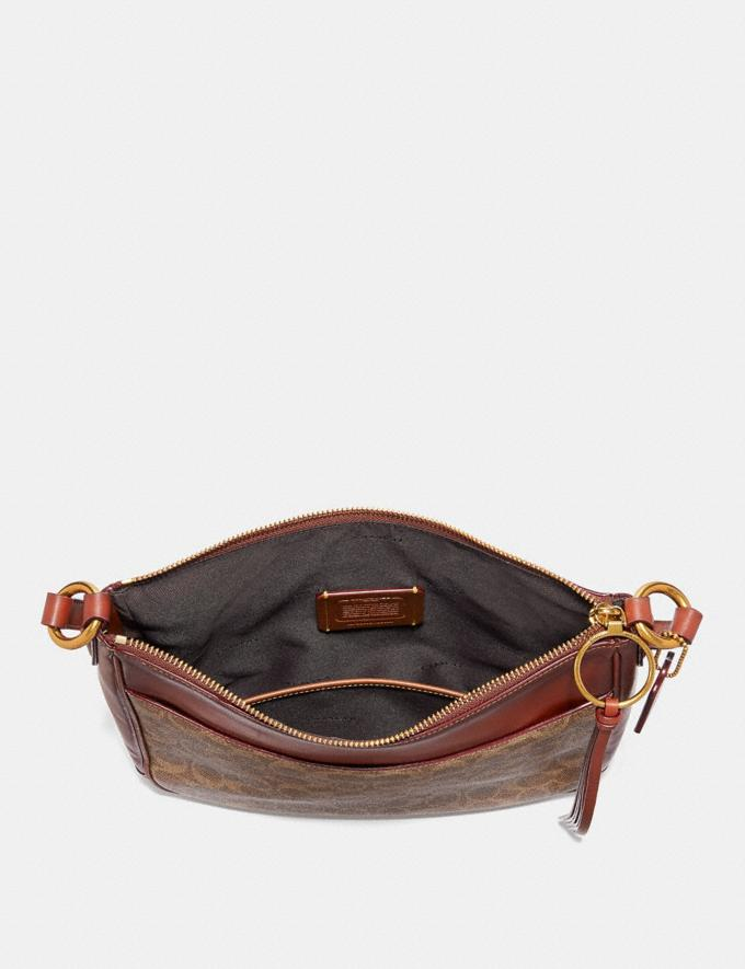 Coach Chaise Crossbody in Signature Canvas B4/Tan Rust New Women's New Arrivals Alternate View 2