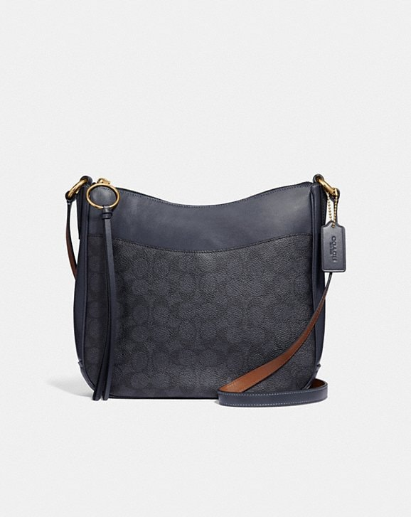 Coach Chaise Crossbody In Signature Canvas