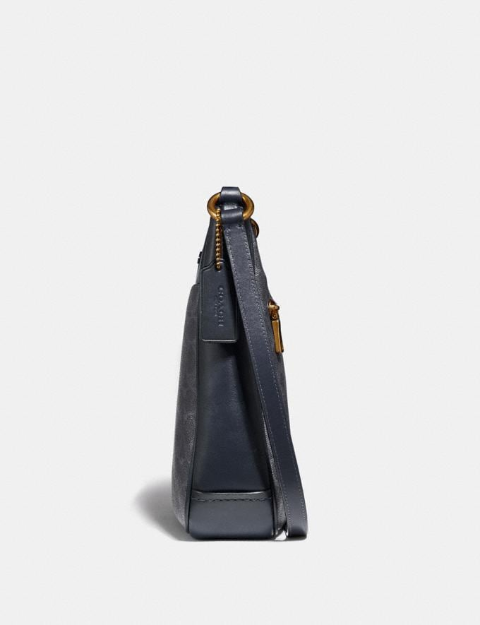 Coach Chaise Crossbody in Signature Canvas Charcoal/Midnight Navy/Gold New Featured Online Exclusives Alternate View 1
