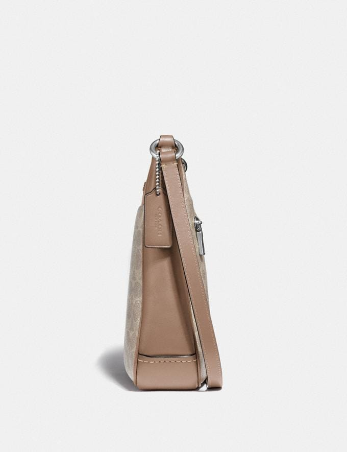 Coach Chaise Crossbody in Signature Canvas Lh/Sand Taupe New Featured Signature Styles Alternate View 1