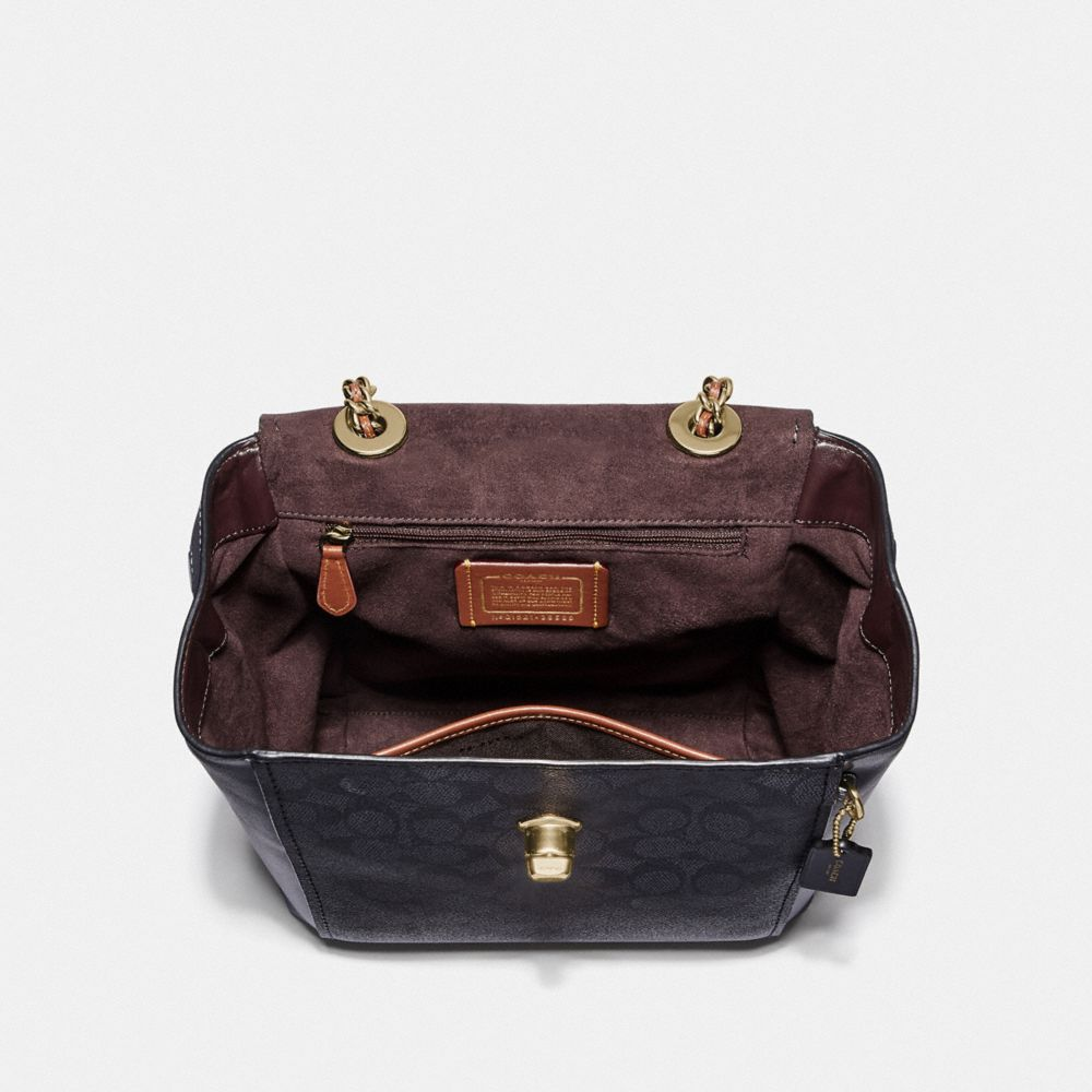 Coach Parker Convertible Backpack in Signature Canvas Alternate View 2