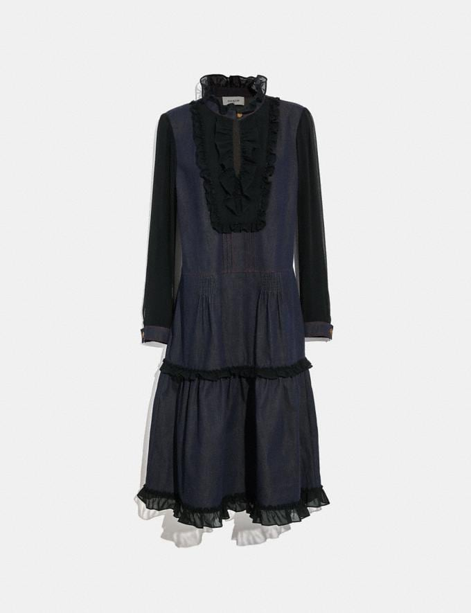 Coach Denim Dress Denim