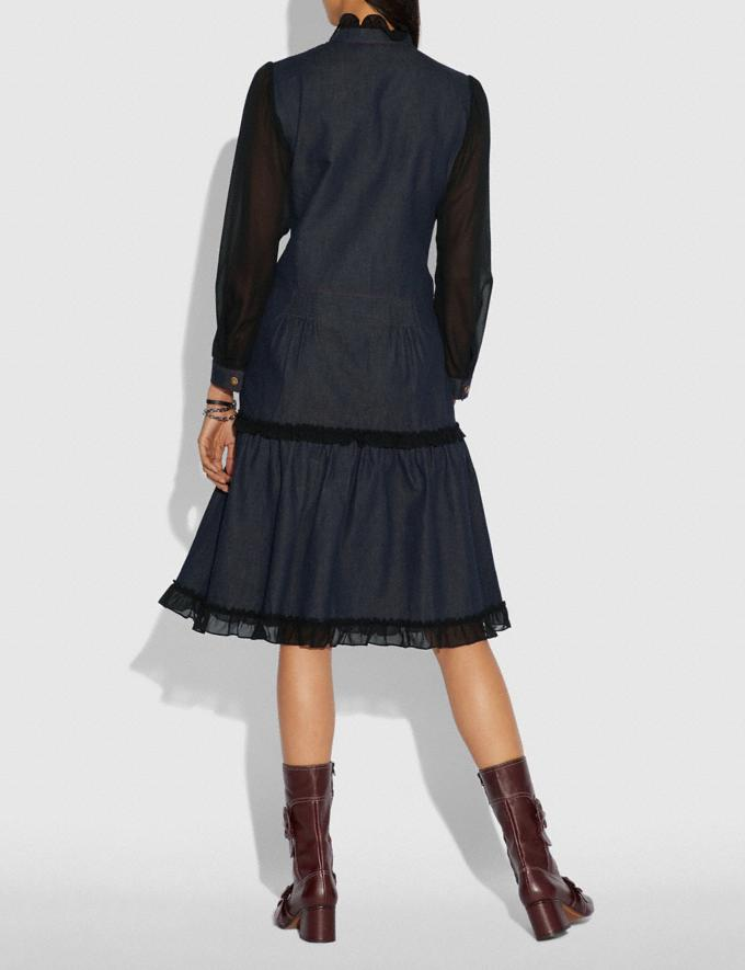 Coach Denim Dress Denim  Alternate View 2