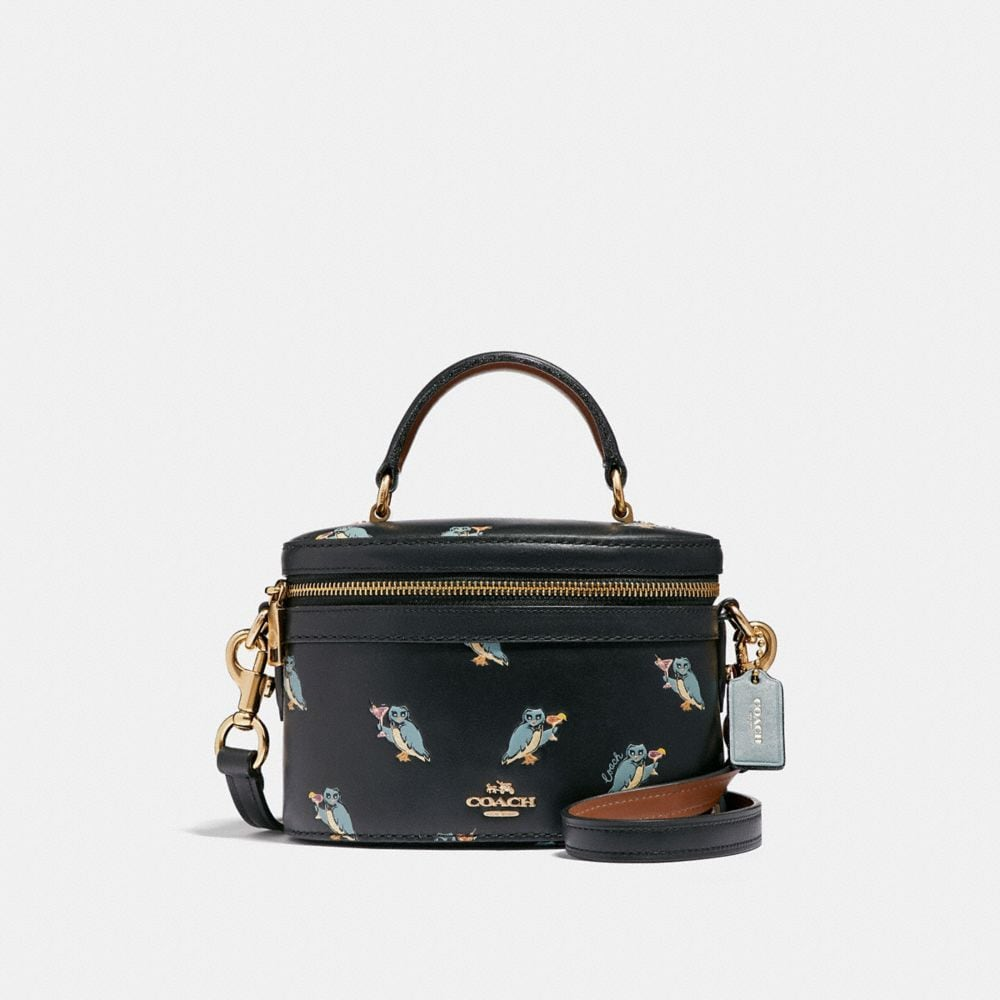TRAIL BAG WITH PARTY OWL PRINT