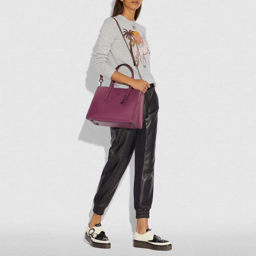 Coach Charlie Carryall With Metallic Interior Alternate View 3