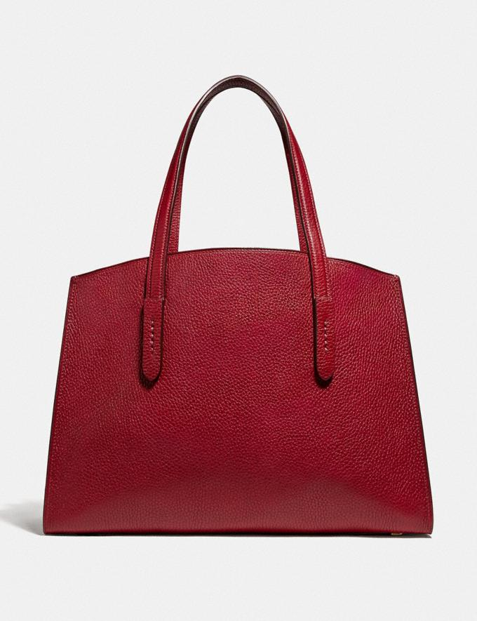 Coach Charlie Carryall With Metallic Interior Gm/Deep Red New Featured Lunar New Year Alternate View 2