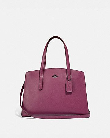 CHARLIE CARRYALL WITH METALLIC INTERIOR