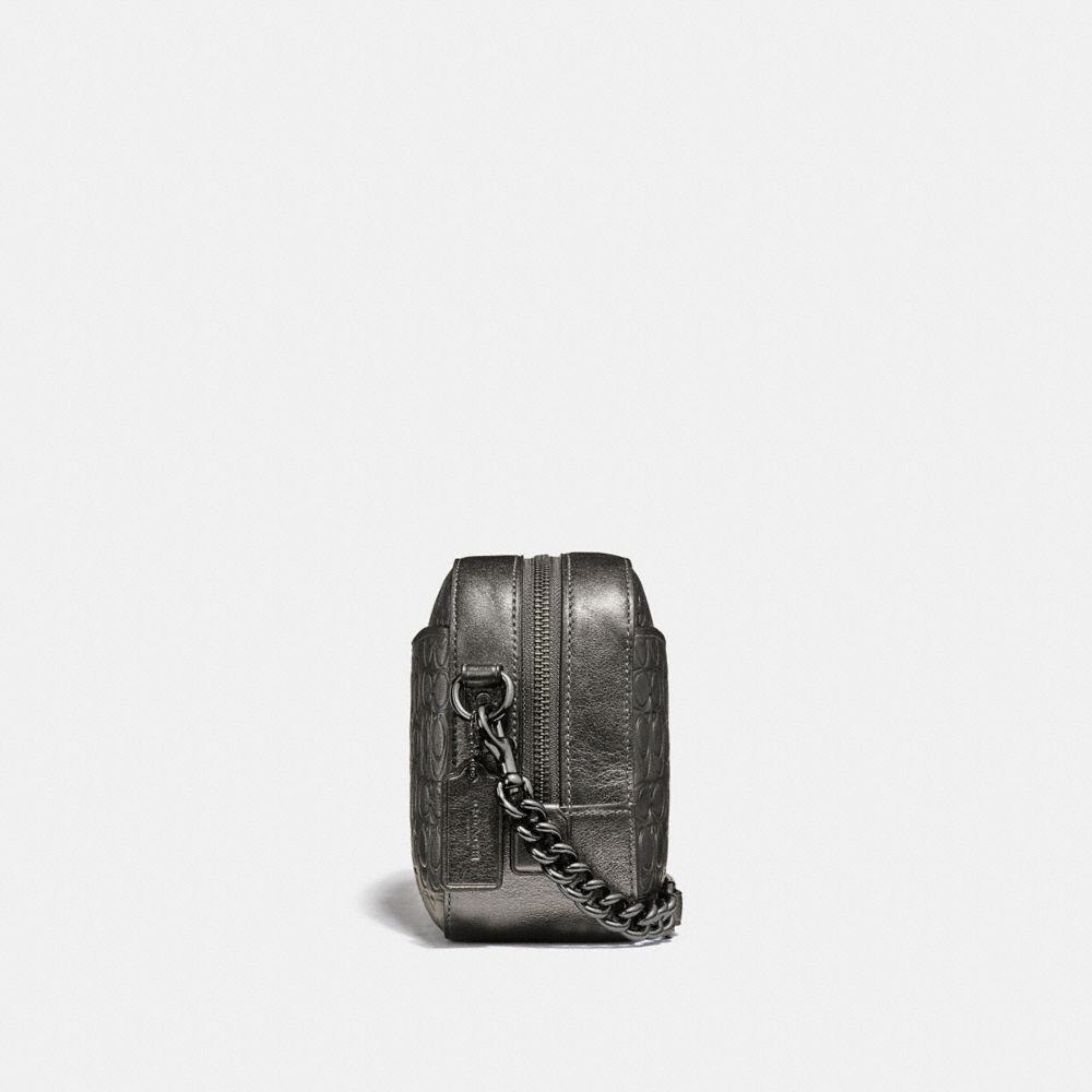 Coach Camera Bag in Signature Leather Alternate View 1