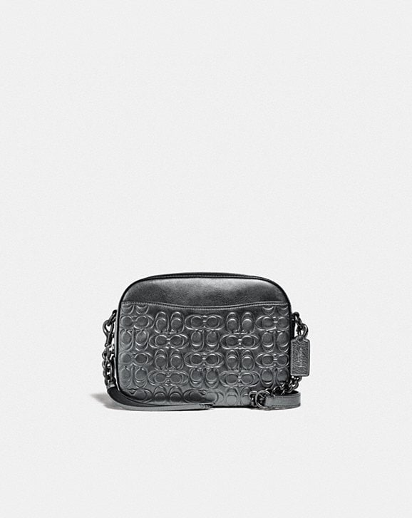 Coach CAMERA BAG IN SIGNATURE LEATHER