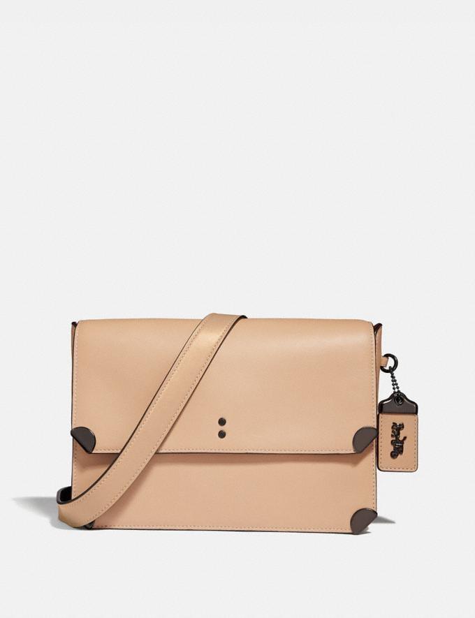 Coach Cooper Shoulder Bag Nude Pink/Pewter Women Bags