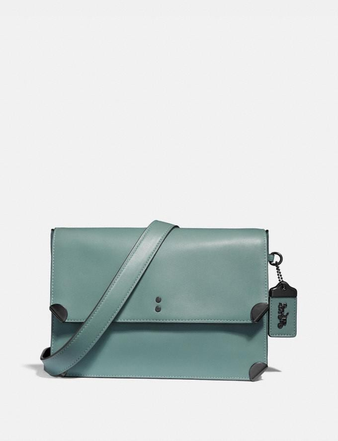 Coach Cooper Shoulder Bag Sage/Pewter Gifts For Her Luxe Gifts