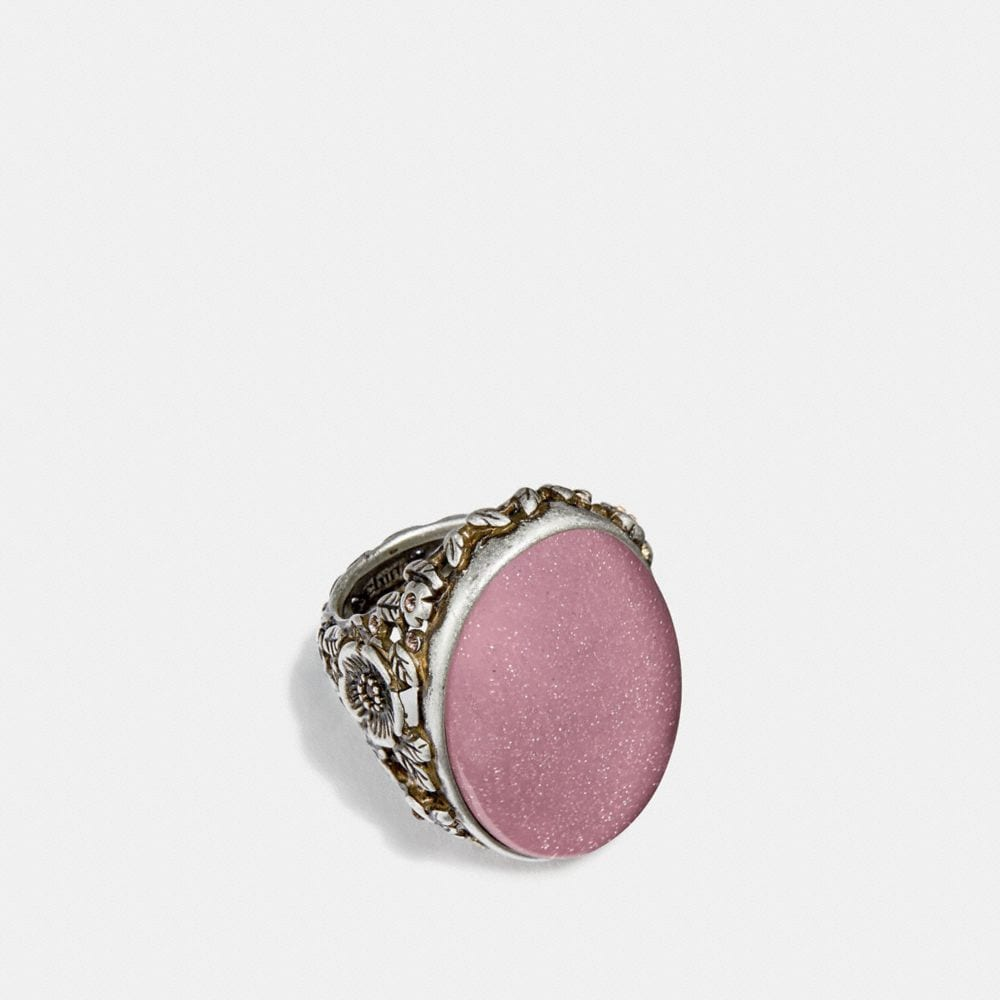 Coach Cabochon Ring