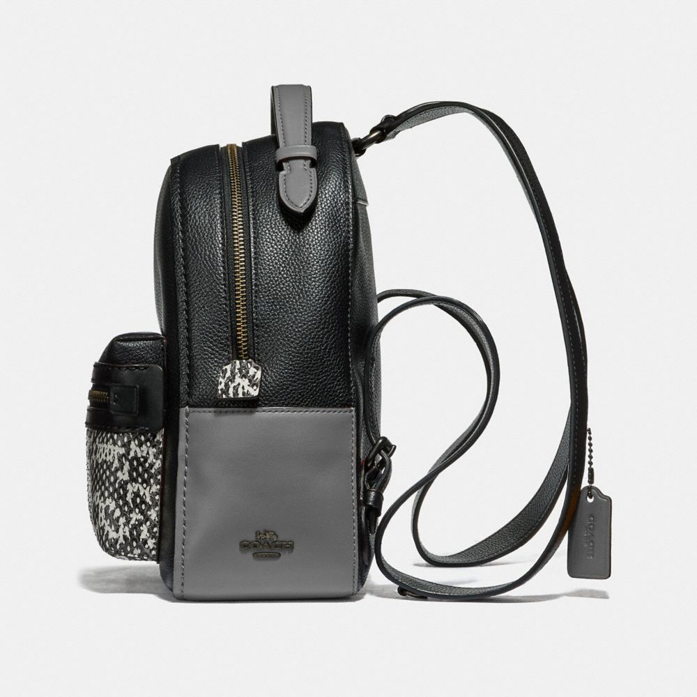 Coach Campus Backpack 23 in Colorblock With Snakeskin Detail Alternate View 1
