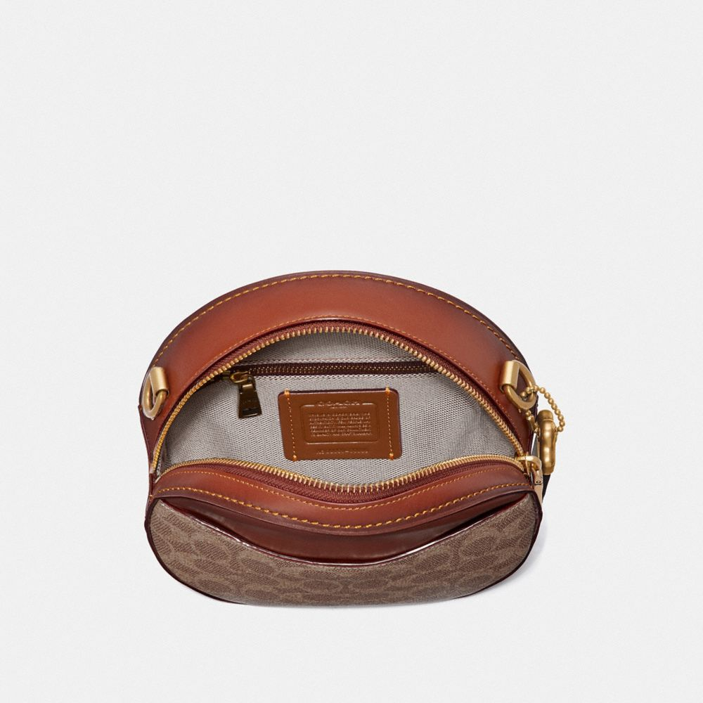 Coach Canteen Crossbody in Signature Canvas Alternate View 2
