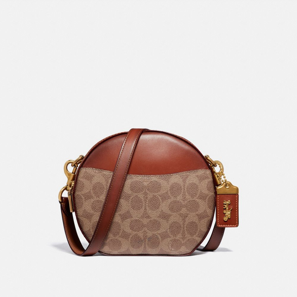 Coach Tracolla Canteen in Tela Signature
