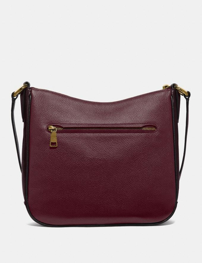 Coach Chaise Crossbody in Colorblock Vintage Mauve Multi/Gold SALE Online Exclusives Alternate View 2