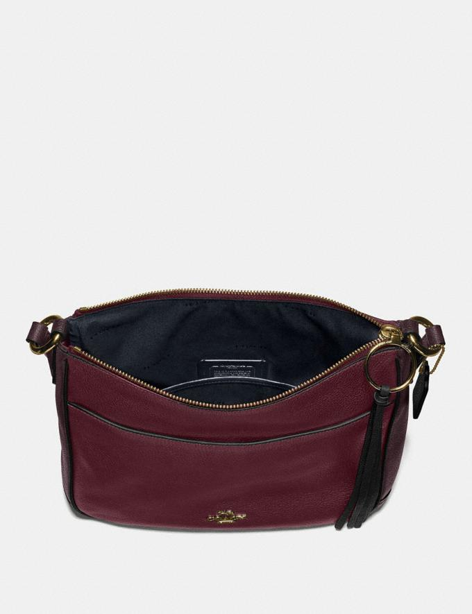 Coach Chaise Crossbody in Colorblock Vintage Mauve Multi/Gold SALE Online Exclusives Alternate View 3