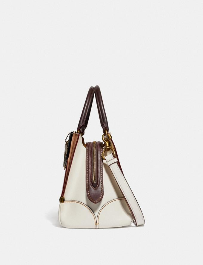 Coach Mason Carryall With Metal Tea Rose Chalk/Brass New Featured Online Exclusives Alternate View 1