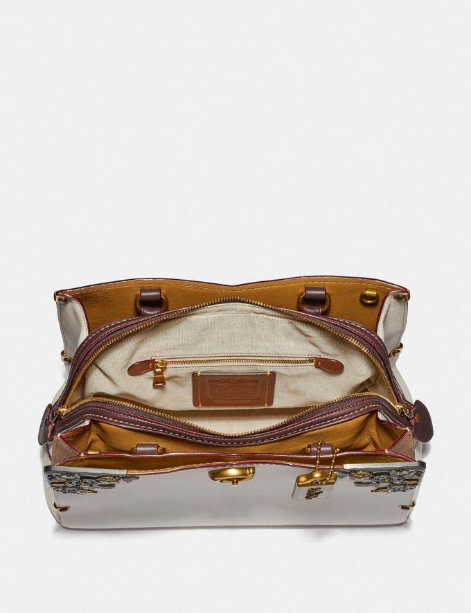 Coach Mason Carryall With Metal Tea Rose Chalk/Brass New Featured Online Exclusives Alternate View 2