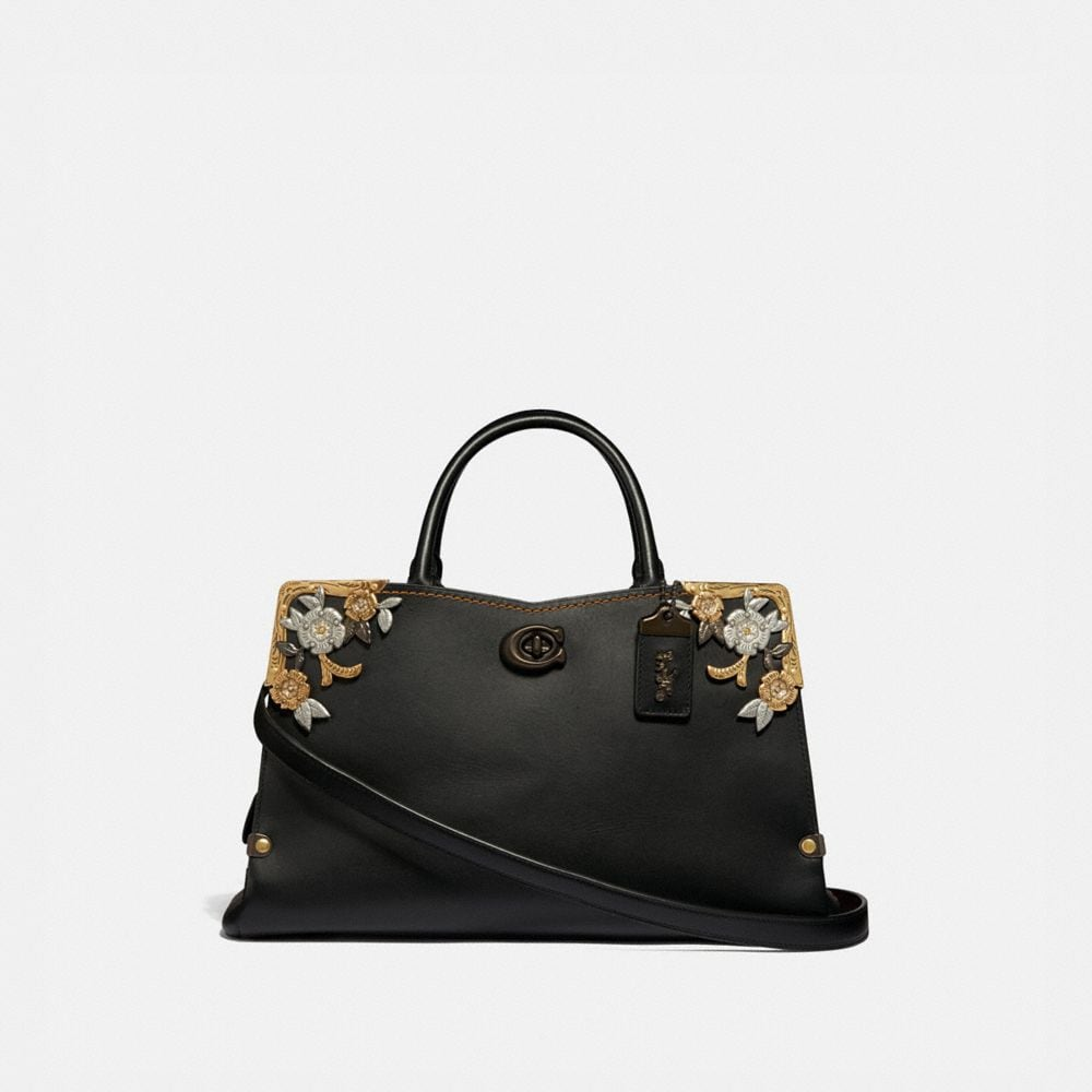 Coach Mason Carryall With Metal Tea Rose