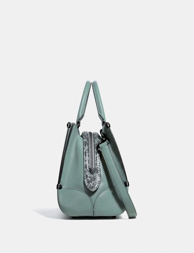 Coach Mason Carryall With Snakeskin Detail Sage/Pewter SALE Women's Sale New to Sale New to Sale Alternate View 1