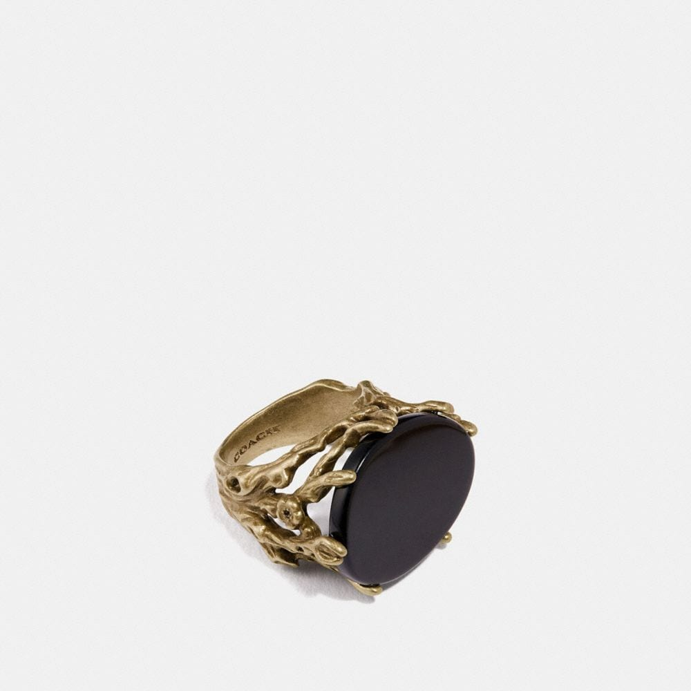 Coach Tea Rose Mood Ring