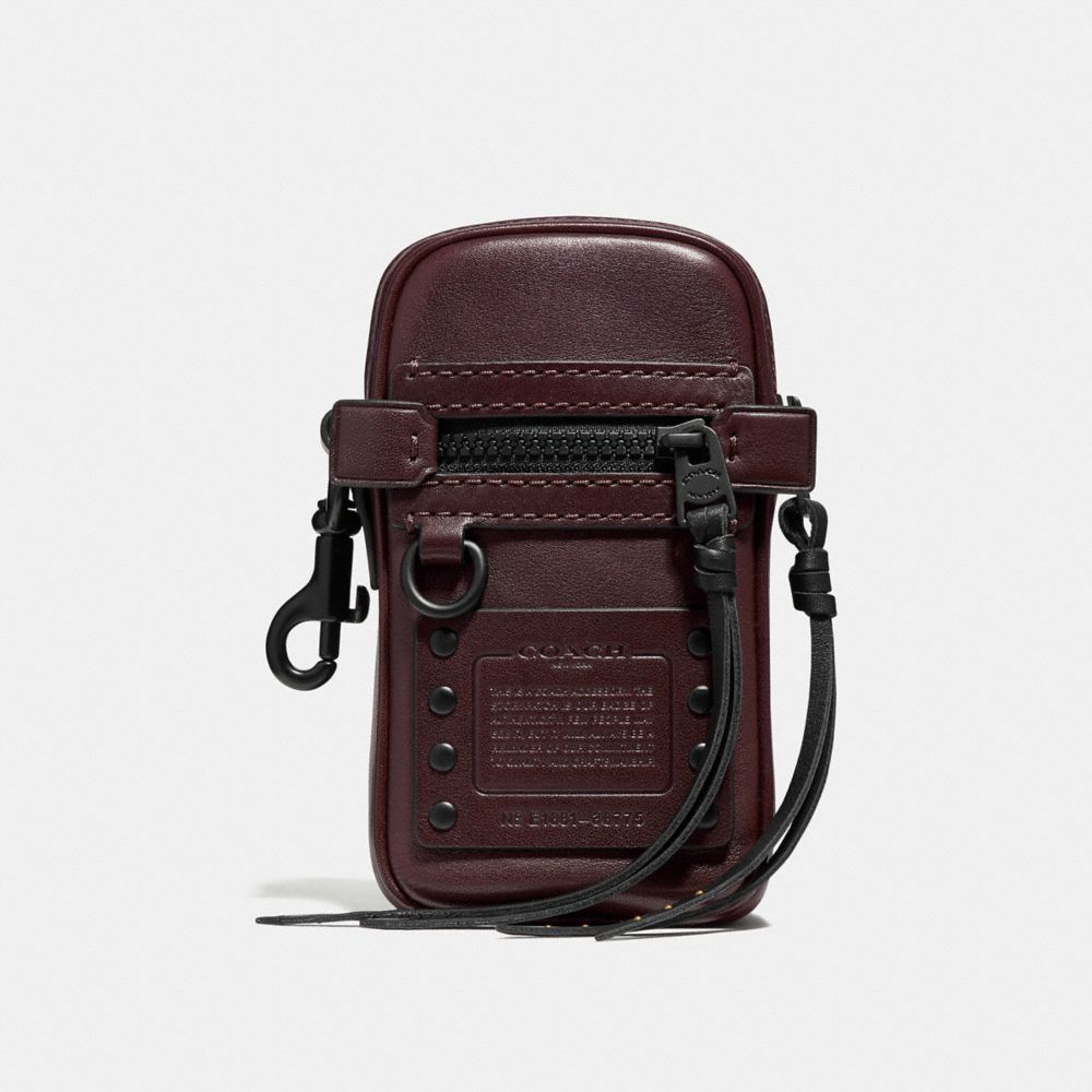 Coach Pouch 9 With Whipstitch