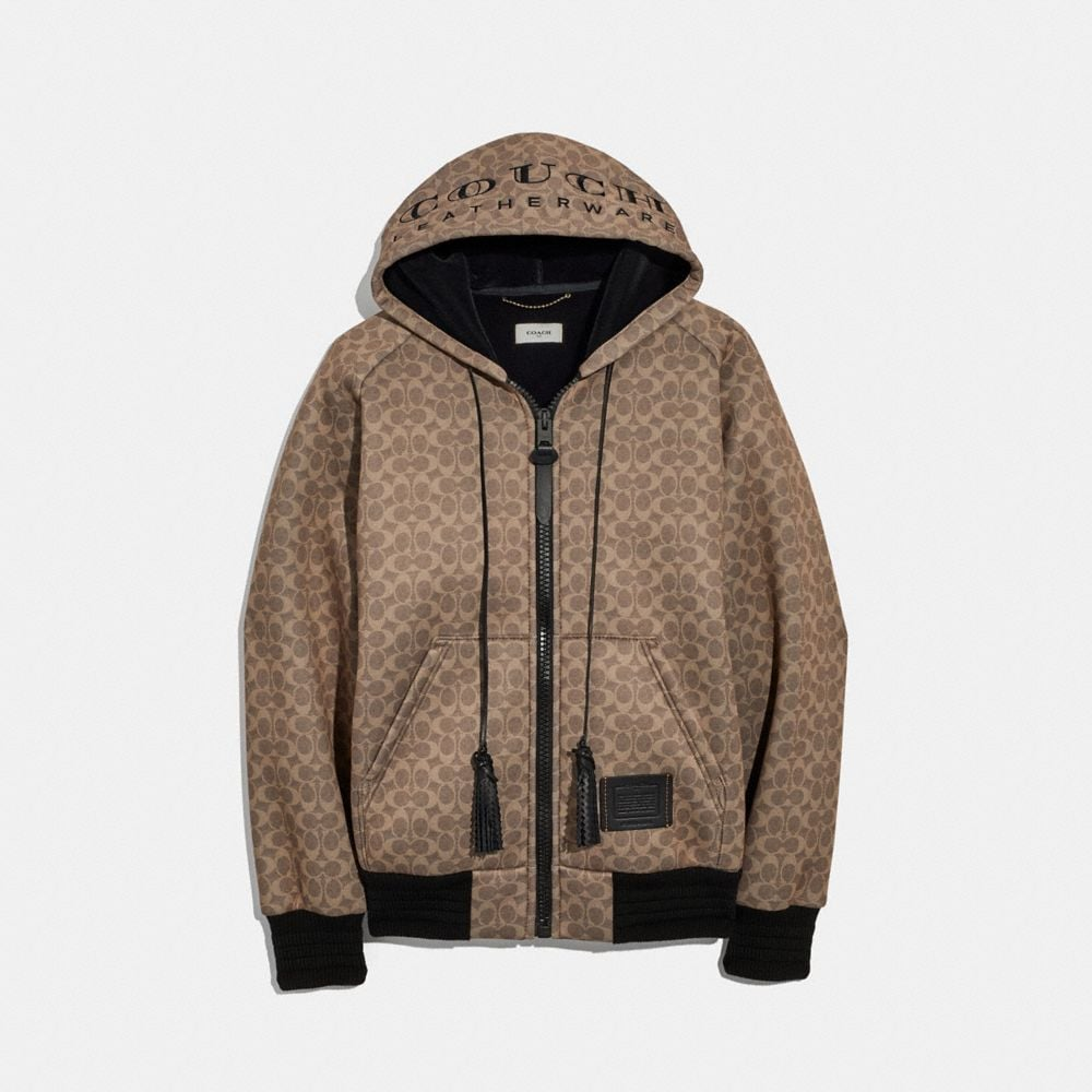 "Coach Signature ""Couch"" Hoodie"