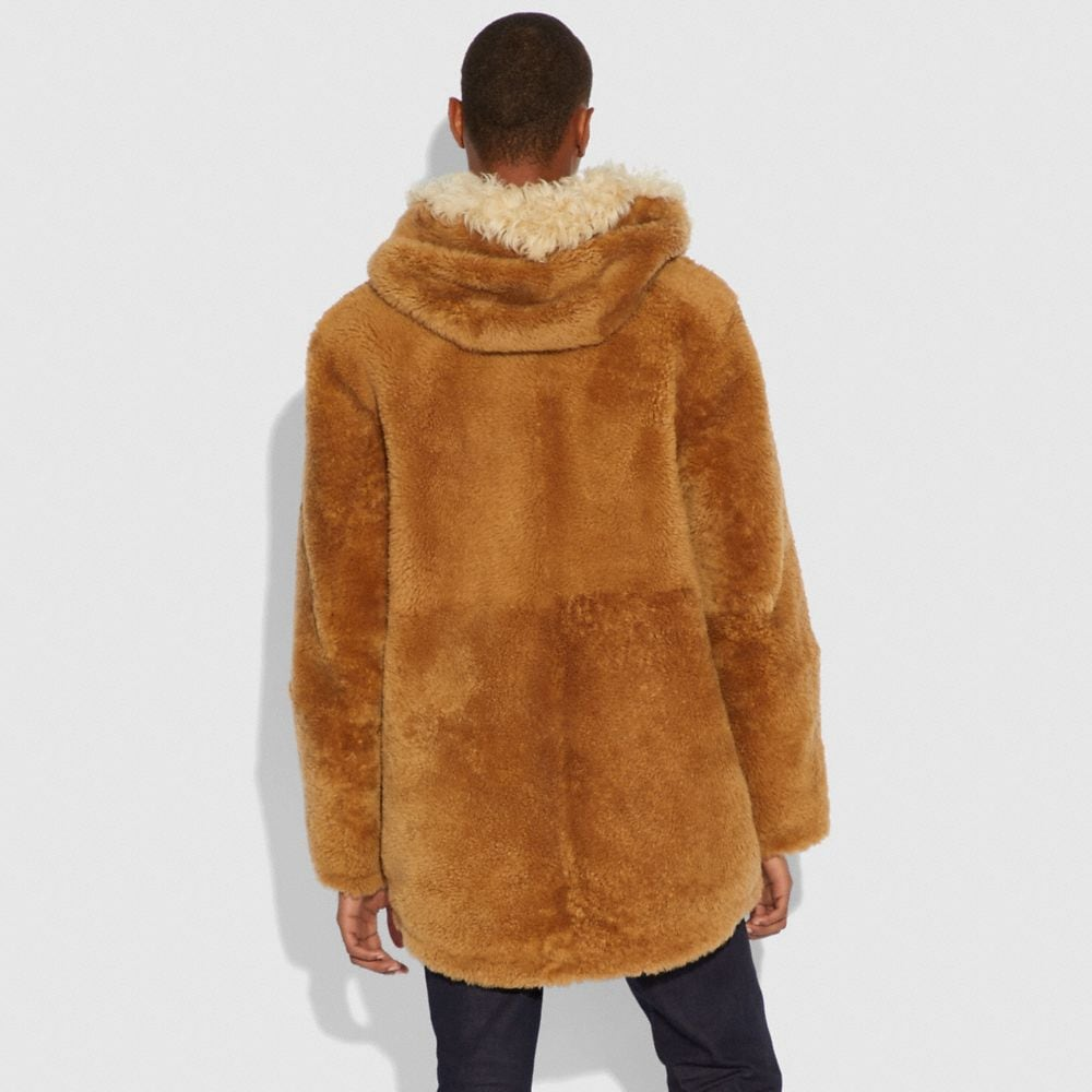Coach Western Parka With Fringe Alternate View 2