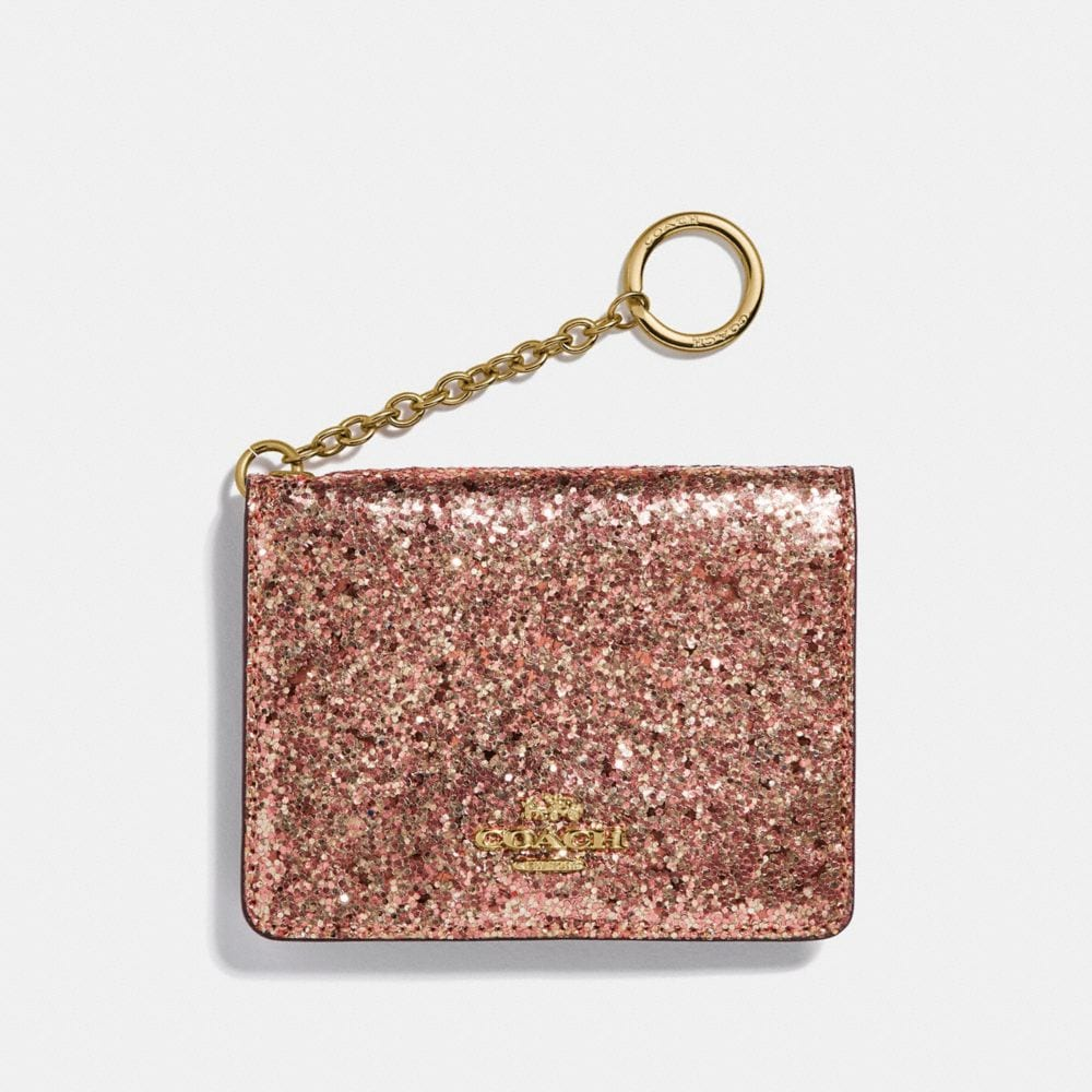 KEY RING CARD CASE