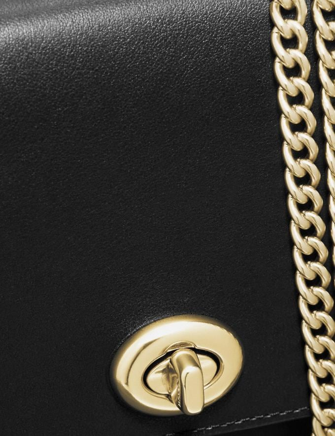 Coach Marlow Turnlock Chain Crossbody Black/Gold Singles Day Alternate View 5