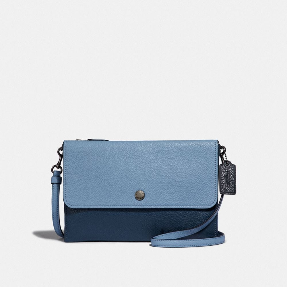 Coach Triple Crossbody in Colorblock