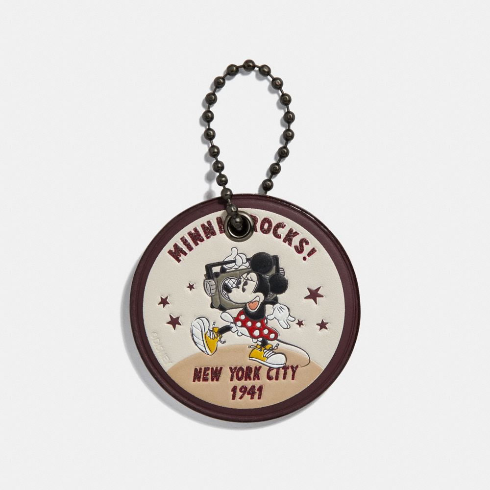 Coach Boxed Minnie Mouse Rock N Roll Hangtag