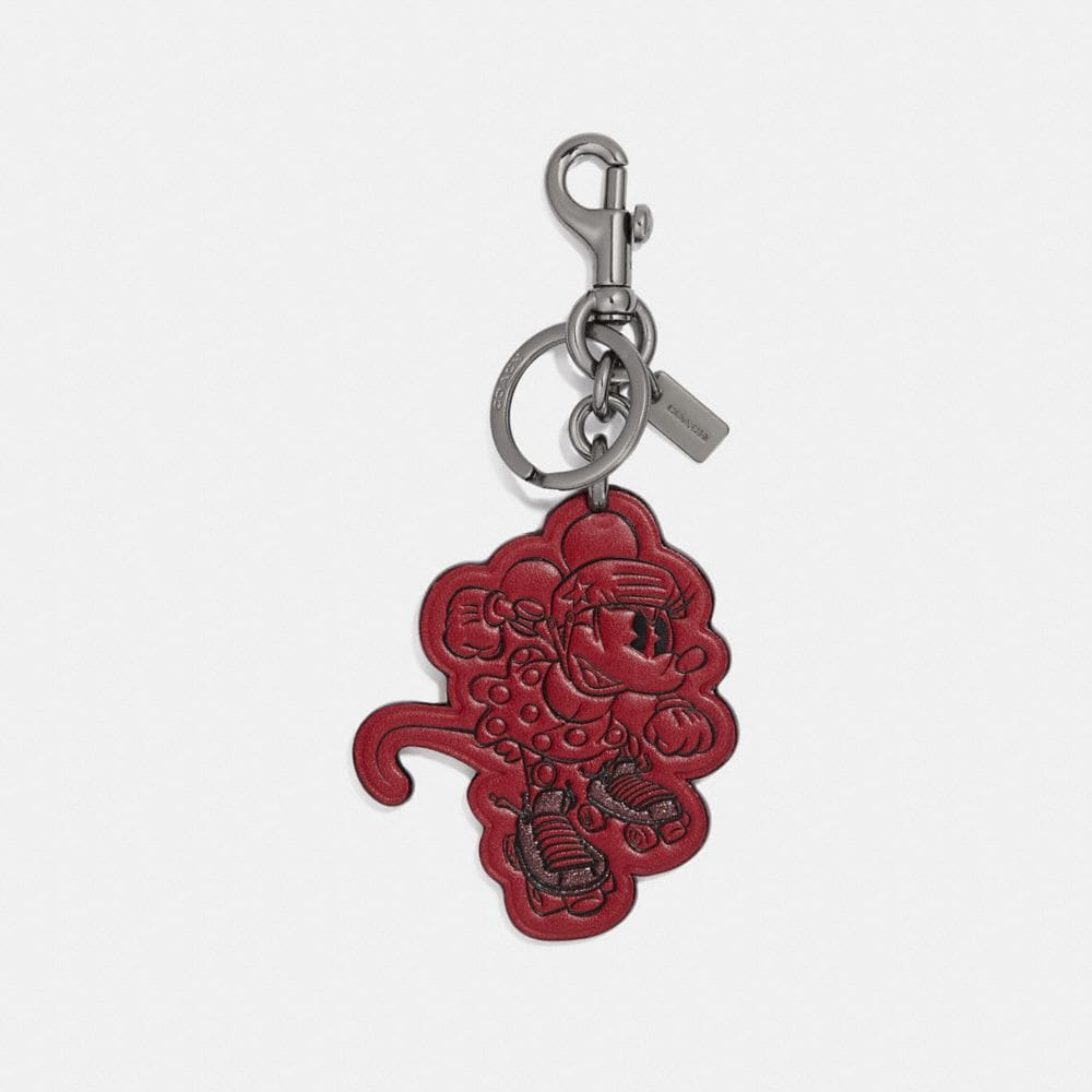 Coach Boxed Minnie Mouse Rollerskate Bag Charm