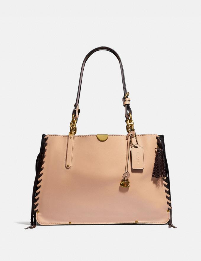 Coach Dreamer Tote 36 Brass/Nude Pink SALE Online Exclusives