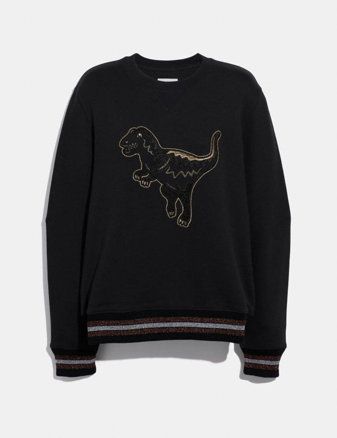 Coach Embroidered Rexy Sweatshirt Dark Shadow SALE 30% off Select Full-Price Styles Women's