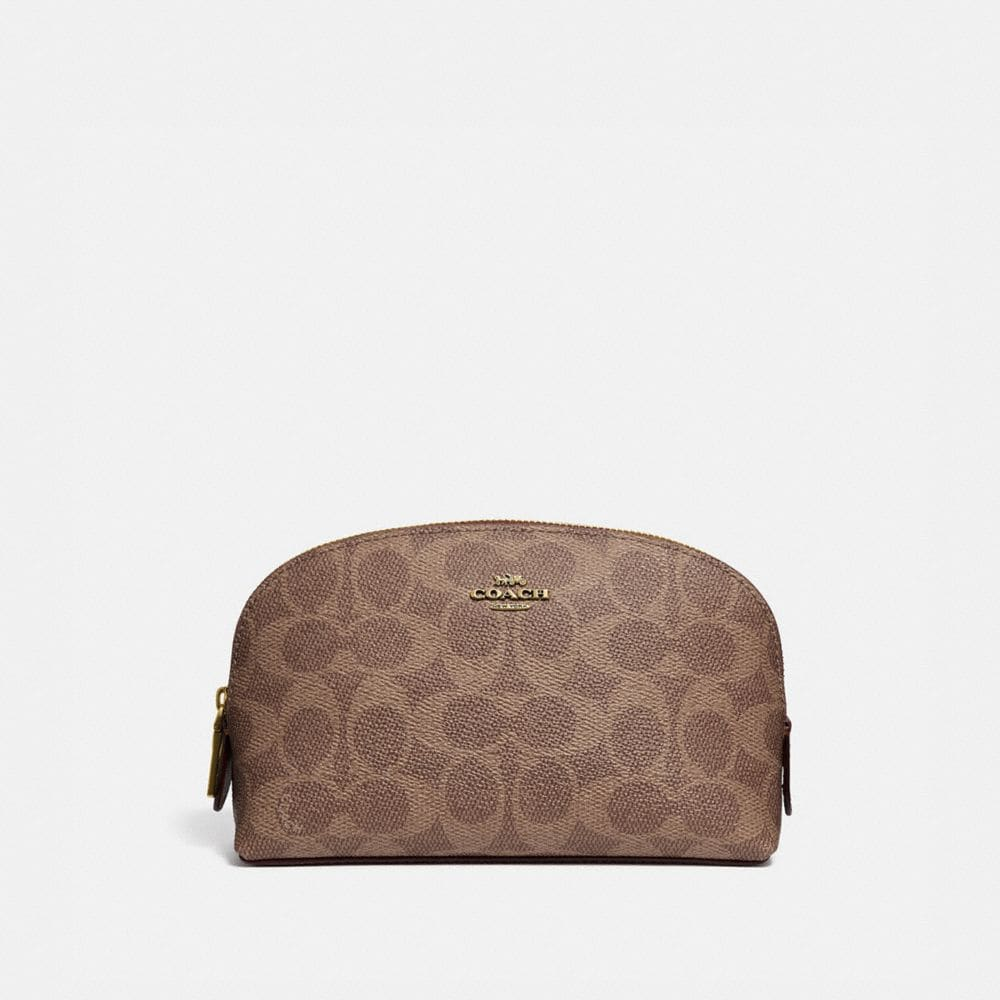 Coach Cosmetic Case 17 in Signature Canvas