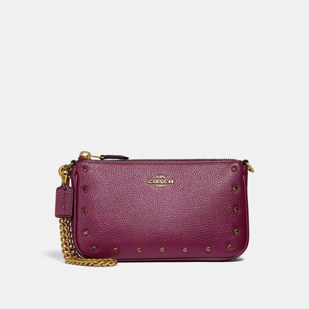 NOLITA WRISTLET 19 WITH CRYSTAL RIVETS