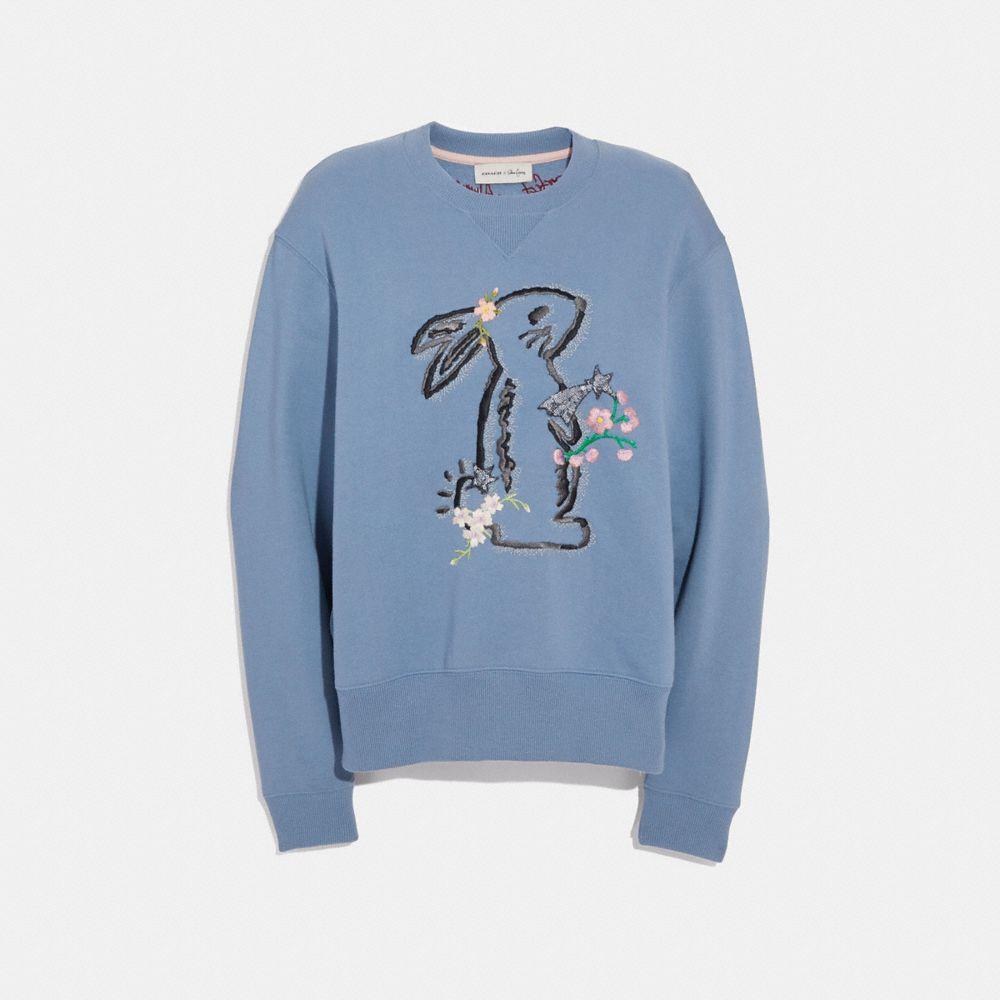 selena bunny sweatshirt