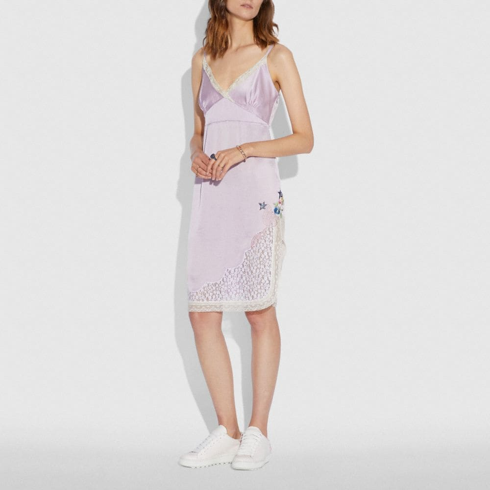 Coach Selena Slip Dress Alternate View 1