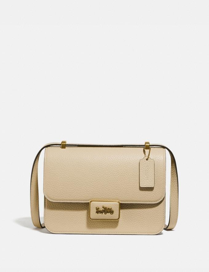Coach Alie Shoulder Bag B4/Ivory Women Bags Shoulder Bags