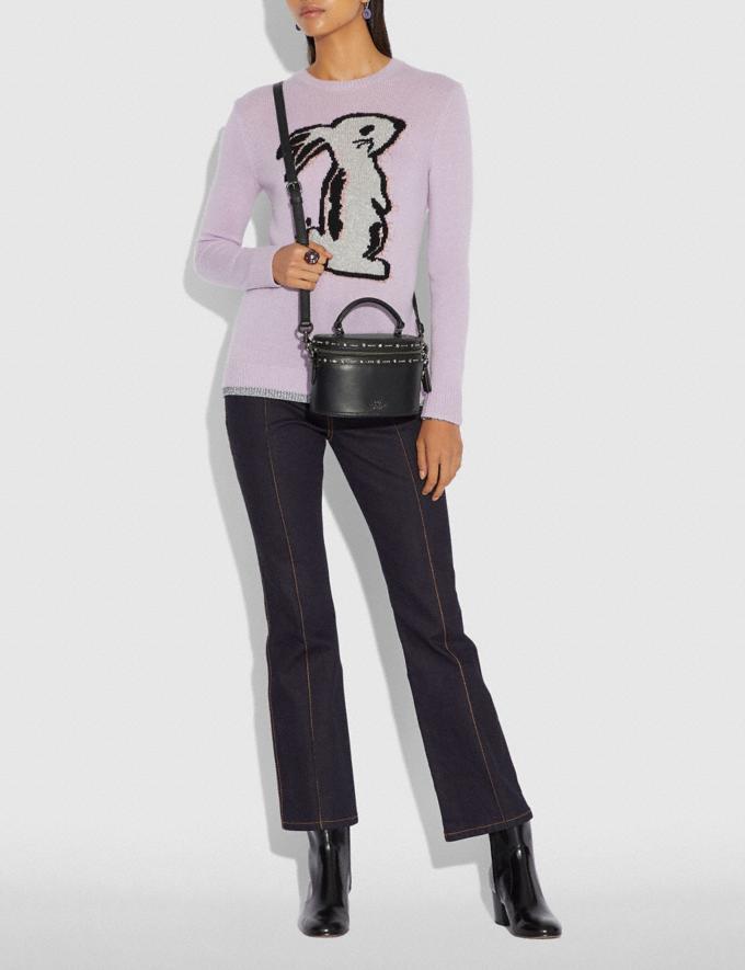 Coach Selena Trail Bag With Crystal Embellishment Black/Gunmetal  Alternate View 3