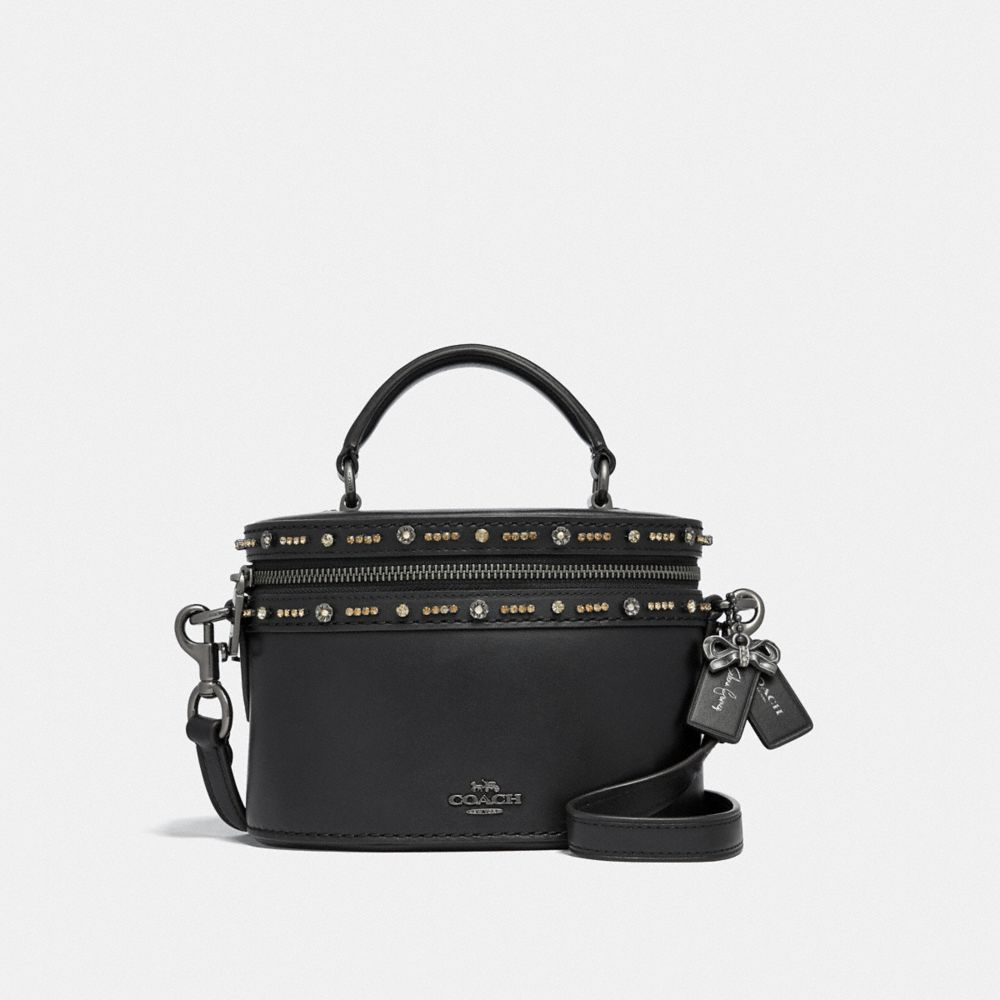 Coach Selena Trail Bag With Crystal Embellishment