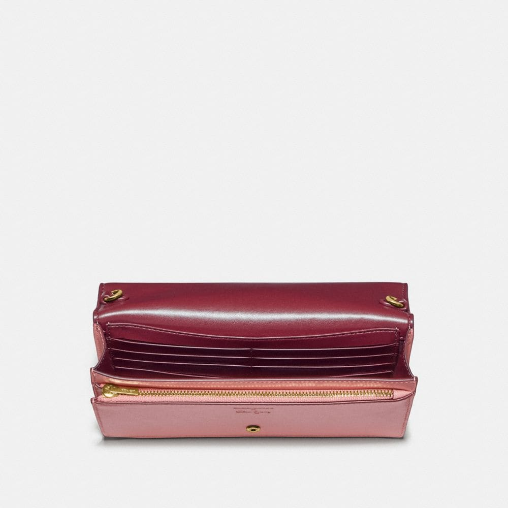 Coach Selena Hayden Foldover Crossbody Clutch in Colorblock Alternate View 2