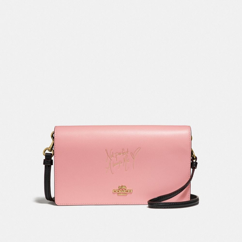 Coach Selena Hayden Foldover Crossbody Clutch in Colorblock
